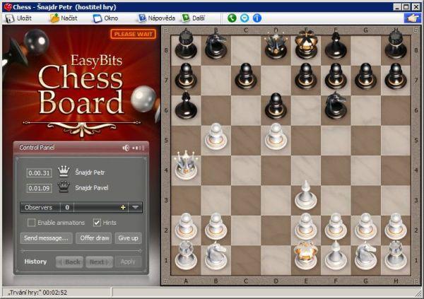 Skype šachy