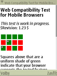 S60 browser screenshot