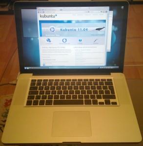 MacBook Pro - Kubuntu