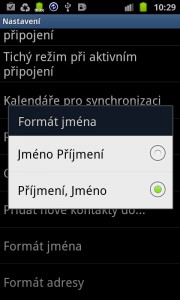 MPE klient settings