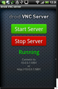 vnc server pro android