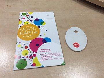 ČSOB COOL karta, předplacená karta MasterCard vydávaná od pondělí 24. srpna 2015.