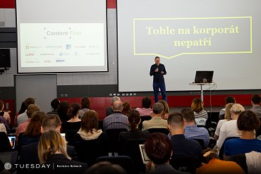 Adam Fendrych na Content First 2015