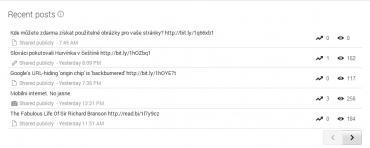 Google+ Insights - Pooh.cz - Jednotlivé příspěvky