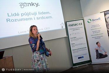 Lucie Tvarůžková, jedna ze zakladatelek Zonky