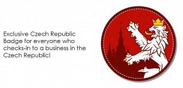 Nová placka (badge) se symbolem českého lva.