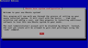 Ubuntu 4.10 - průvodce instalací