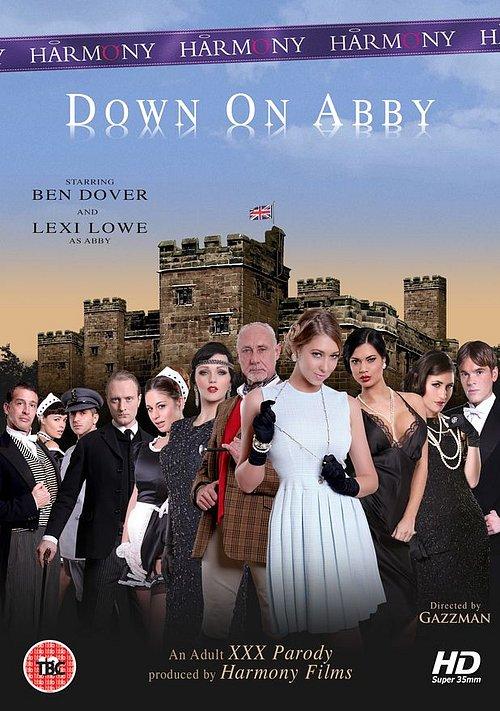 Plakát k porno parodii Down on Abby