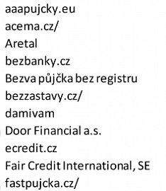 Predátoři, tedy poskytovatelé úvěrů s nebezpečnými podmínkami ve smlouvách