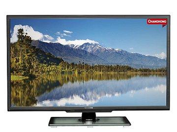 Televizor i přes velice nízkou cenu nevypadá špatně. Bohužel na přední straně chybí jakákoli LED kontrolka, takže při zapnutí, které trvá skoro dvacet sekund, nevidíte žádnou činnost.