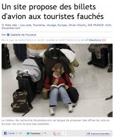 Skypicker v Le Figaro