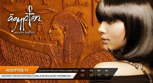 Ägypten TV startuje už za dva dny. Tuto obrazovku už diváci důvěrně znají několik měsíců.
