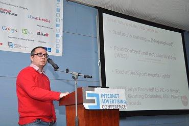 Pavel Krbec, ředitel sekce internetu a ostatních interaktivních služeb CET 21.