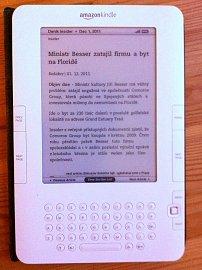 Deník Insider na čtečce Kindle