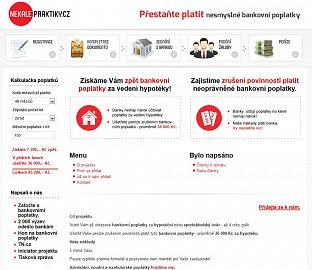 Obsah na webu Bankovni-poplatky.com.