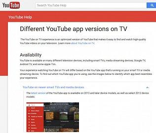 Google nemá skrupule a dělá si co chce bez ohledu na uživatele. U televizorů zrušil podporu widgetu Youtube od roku výroby 2012 níže! Bohužel ani aplikace Youtube pro moderní operační systémy televizorů pro rok 2015 řadu týdnů nepracovaly!