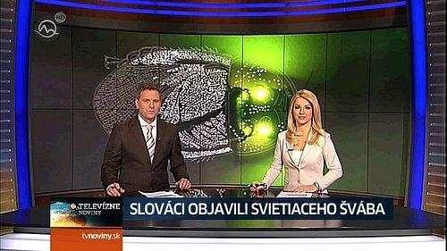 Ukázka z vysílání kanálu Markíza HD