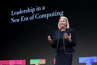 Šéfka IBM Virginia Rometty.