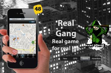RealGang - jak vypadá aplikace na webu