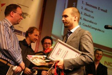 Tomáš Pergler (senior produktový manažer Seznam.cz) a Patrick Zandl (šéfredaktor Lupa.cz)