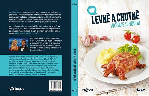 Obal druhého dílu kuchařky Levně a chutně