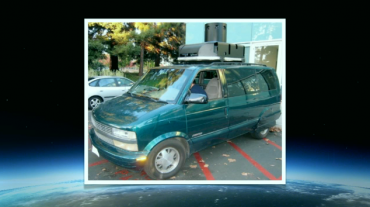 Stará typ auta pro Street View