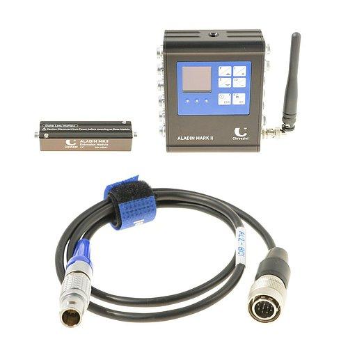 Ukázka systému Aladin MK II, který je součástí vysílacího řetězce pro 4K rozlišení.