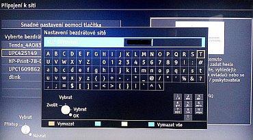 Instalace Wi-Fi je ukázková, za pozornost stojí i výborná softwarová klávesnice.