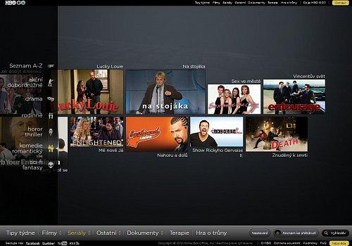 Přiřazení stand-up comedy show Na stojáka mezi seriály postráda smysl. Obrázek je možné po kliknutí zvětšit.