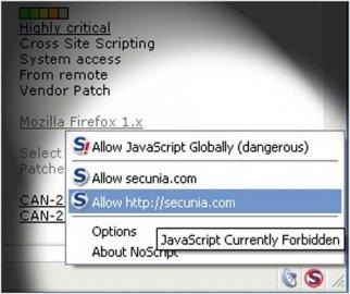 NoScript pro FireFox