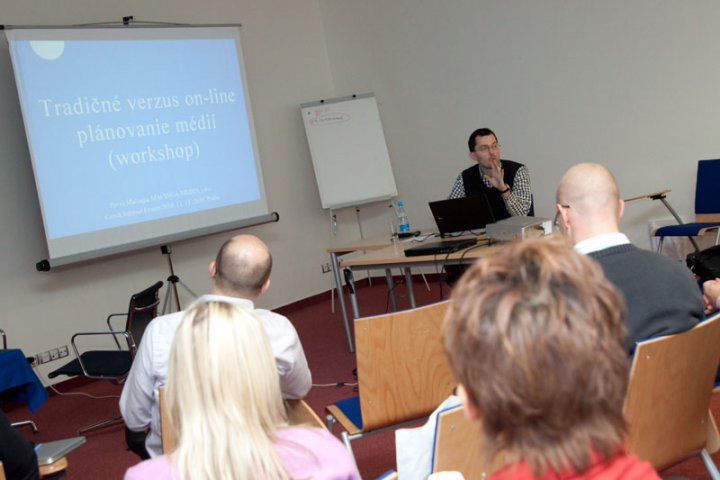 Workshop: Tradin vs. online plnovn mdi, Pavol Mainga