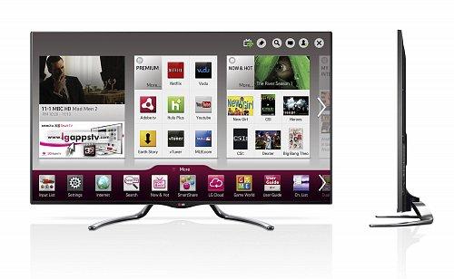 Nový model televizoru společnosti LG Electronics podporující platformu Google TV.