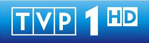Logo polského kanálu TVP 1 v HD rozlišení, který bude dostupný v polském DVB-T od 1. června.