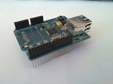 Arduino a Ethernet Shield