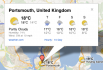 Google vrstva Weather v roce 2008