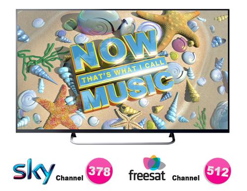Now Music TV bude dostupná v rámci nekódovaného vysílání i pro diváky v České republice.