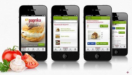 Náhled aplikace televize Paprika