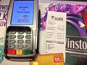 Cashback na Blesk peněžence opravdu nefunguje. Test z čerpací stanice Orlen v Chalupkách, Polsko.