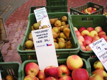 Nevěděla jsem, jaká jablka a hrušky si vybrat