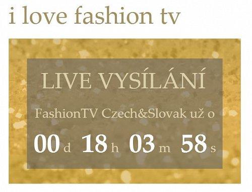 Internetový stream Fashion TV by měl být podle časomíry dostupný na jejím webu od pravého poledne.
