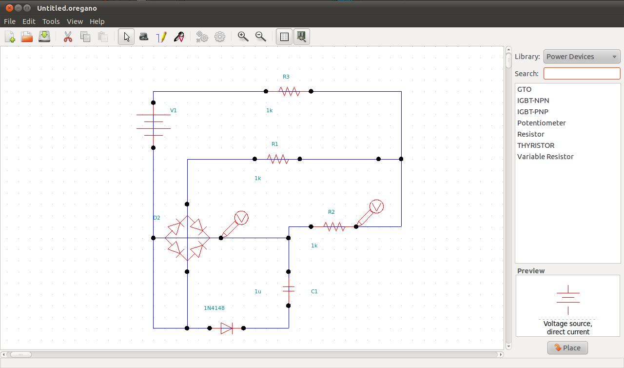 Tvorba Elektrickych Obvodu A Simulace Podruhe Root Cz