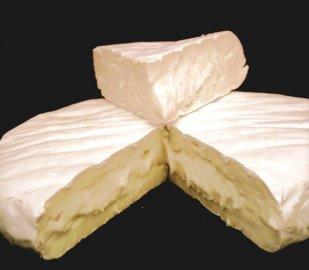 Camembert - měkký sýr s plísní na povrchu