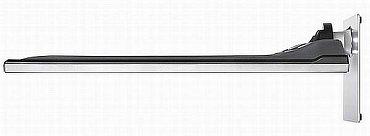 Boční profil je sice klasický, ale podstavec má snad přes pět kilo a je z prakticky čistého kovu, což v této cenové relaci není zvykem. Pokud ho zvládnete smontovat, bude jen zářit!