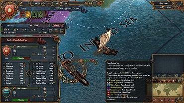 Europa Universalis IV - obrázky ze hry.