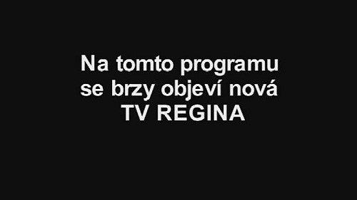 Testovací obrazovka televize Regina
