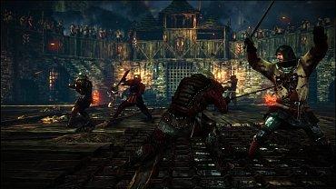 The Witcher obrázky ze hry.