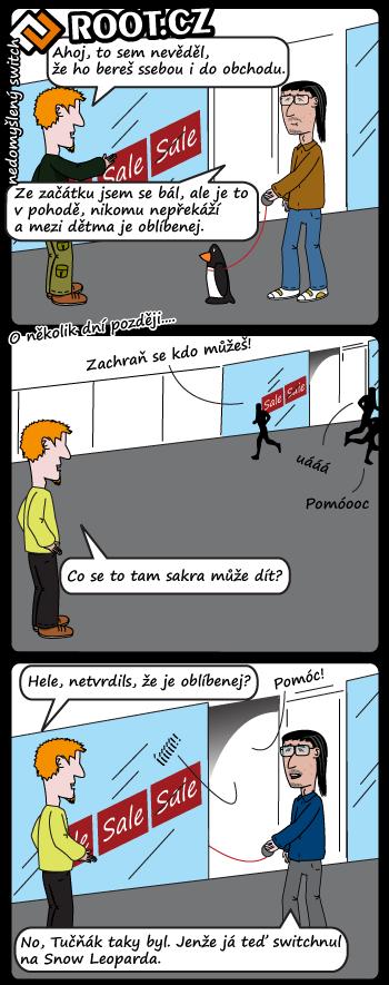 Komiks: nedomyšlený switch