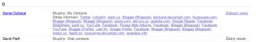 Koho máte ve svém sociálním okruhu: informace, které mi Google uložil ke jménu Dan Dočekal. Pamatujte na to, až budete číst další Danův článek o tom, co nemáte svěřovat sociálním sítím...