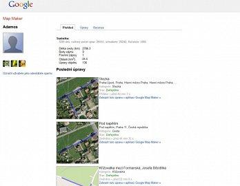V Google Map Makeru vidíte i chyby, které nahlásili ostatní uživatelé.