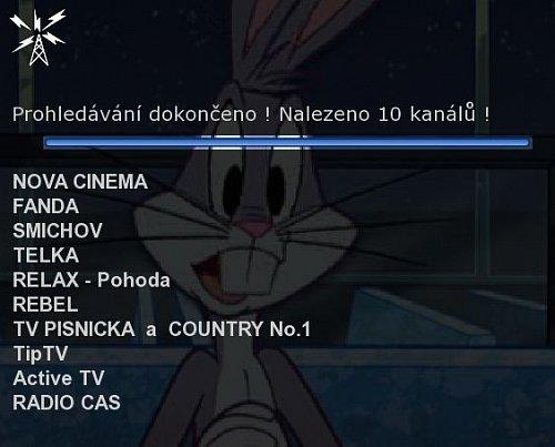 Aktuální přehled vysílaných kanálů v pražské verzi multiplexu 4 Radima Pařízka